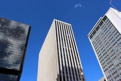Im Stadtzentrum gelegene Denver-Wolkenkratzer Lizenzfreies Stockfoto