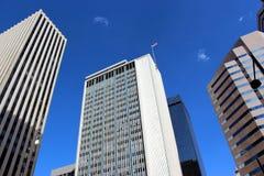 Im Stadtzentrum gelegene Denver-Wolkenkratzer Stockfoto