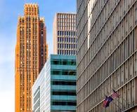 Im Stadtzentrum gelegene Detroit-Architektur stockbilder