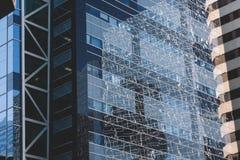 Im Stadtzentrum gelegene Gebäude Lizenzfreies Stockfoto