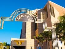 Im Stadtzentrum gelegene katholische Kathedrale Los Angeless unserer Dame Of The Angels lizenzfreie stockfotografie