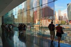Im Stadtzentrum gelegene Manhattan-Wolkenkratzer Stockfotos