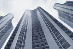 Im Stadtzentrum gelegene Miami-Architektur Stockfotografie