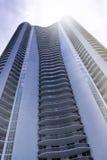 Im Stadtzentrum gelegene Miami-Architektur Lizenzfreie Stockfotografie