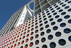 Im Stadtzentrum gelegene moderne Architektur Miamis Stockbild