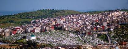 Im Stadtzentrum gelegene Moschee altes und neues silam Medinas in Fes, Marokko Lizenzfreies Stockfoto