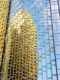 Im Stadtzentrum gelegene Reflexionen 9 stockfoto