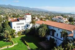 Im Stadtzentrum gelegene Santa Barbara Lizenzfreie Stockbilder