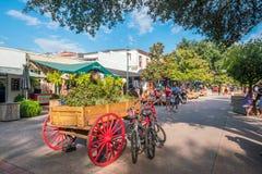 Im Stadtzentrum gelegene Savannah Georgia USA Lizenzfreie Stockfotografie