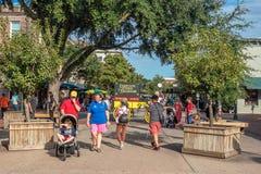 Im Stadtzentrum gelegene Savannah Georgia USA Lizenzfreie Stockfotos