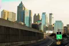 Im Stadtzentrum gelegene Skyline Lizenzfreie Stockfotografie