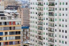 Im Stadtzentrum gelegene Skyline Sao Paulos Stockfotografie