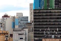 Im Stadtzentrum gelegene Skyline Sao Paulos Lizenzfreies Stockfoto