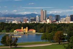 Im Stadtzentrum gelegene Stadt von Denver, Colorado Stockfoto