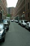 Im Stadtzentrum gelegene Straße Stockfotos