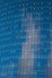 Im Stadtzentrum gelegene Wolkenkratzer Buenos Aires mit blauem Spiegel Lizenzfreie Stockfotos