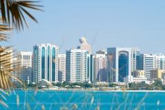 Im Stadtzentrum gelegener Abu Dhabi Stockfotos