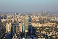 Im Stadtzentrum gelegener Abu Dhabi Lizenzfreie Stockfotos