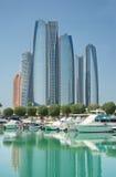 Im Stadtzentrum gelegener Abu Dhabi Stockbild