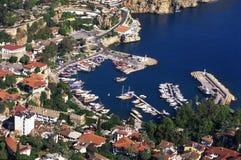 Im Stadtzentrum gelegener Antalya die Türkei Stockbild