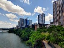 Im Stadtzentrum gelegener Austin Texas Stockbilder