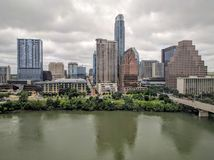 Im Stadtzentrum gelegener Austin Texas Stockfoto