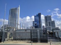 Im Stadtzentrum gelegener Austin Texas Lizenzfreie Stockfotografie