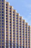 Im Stadtzentrum gelegener Bürohaus-Auszug Stockfoto