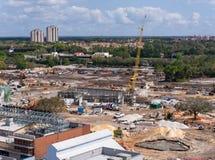 Im Stadtzentrum gelegener Disney-Bau Lizenzfreie Stockfotos