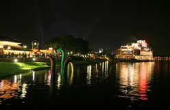 Im Stadtzentrum gelegener Disney in Orlando Florida Lizenzfreies Stockbild