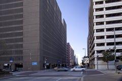 Im Stadtzentrum gelegener Durchschnitt Stockbild