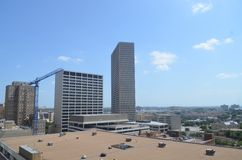 Im Stadtzentrum gelegener Fort Worth lizenzfreies stockbild