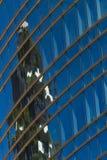 Im Stadtzentrum gelegener Himmelschaber stockfotos