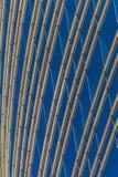 Im Stadtzentrum gelegener Himmelschaber lizenzfreies stockbild