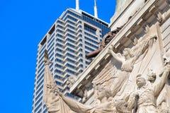 Im Stadtzentrum gelegener Indy Stockfotos