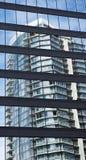 Im Stadtzentrum gelegener Jachthafenbereich Vancouvers Lizenzfreie Stockfotografie