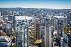 Im Stadtzentrum gelegener Kanada BC Platz Vancouvers Lizenzfreies Stockbild