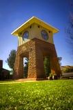 Im Stadtzentrum gelegener Kontrollturm Stockfoto