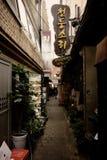 Im Stadtzentrum gelegener Markt Seouls Korea Lizenzfreie Stockfotos