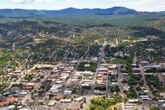 Im Stadtzentrum gelegener Prescott, Arizona Lizenzfreie Stockfotografie