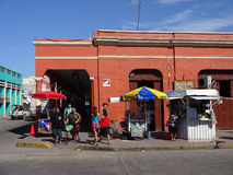 Im Stadtzentrum gelegener Progresso-Strand Lizenzfreie Stockfotos