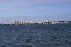 Im Stadtzentrum gelegener Sarasota lizenzfreie stockfotos