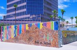 Im Stadtzentrum gelegener Tucson Stockbild