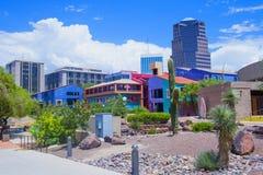 Im Stadtzentrum gelegener Tucson Stockfotografie