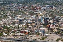 Im Stadtzentrum gelegener Tucson lizenzfreies stockfoto