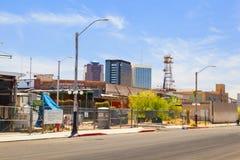 Im Stadtzentrum gelegener Tucson, Arizona Stockbild