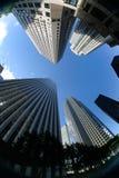 Im Stadtzentrum gelegener Wolkenkratzer Lizenzfreies Stockfoto