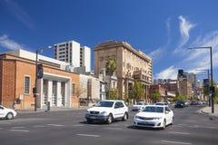 Im Stadtzentrum gelegenes Adelaide Lizenzfreies Stockbild