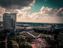 Im Stadtzentrum gelegenes Atlanta lizenzfreies stockbild