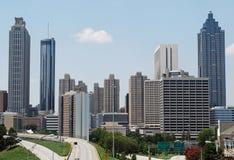 Im Stadtzentrum gelegenes Atlanta, Georgia stockbild
